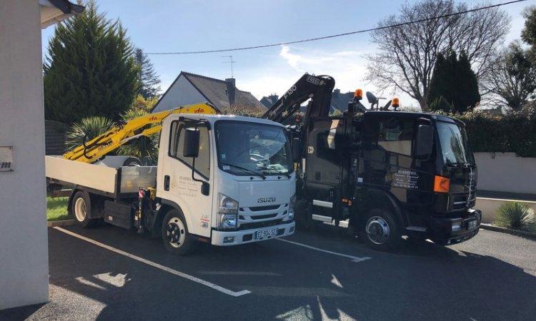 Pompes Funèbres Vannier Legrand Plouha - Les camions